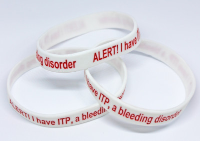 ITP ALERT wristbands