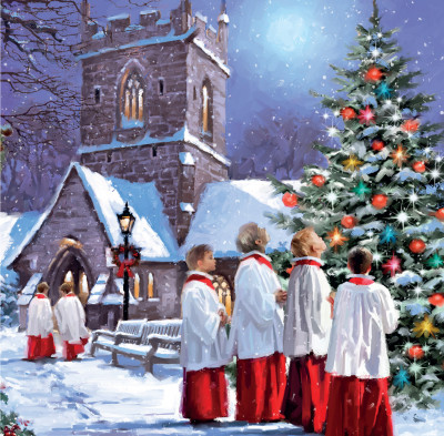 Christmas Carols - Christmas Cards